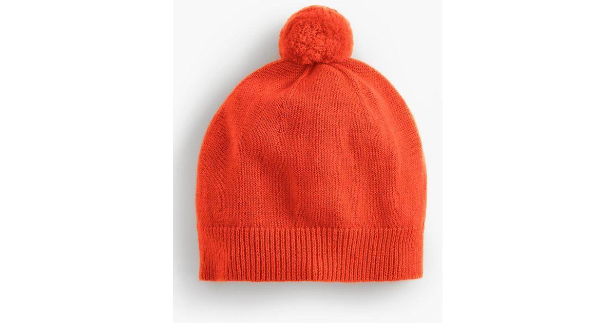 Lyst - Talbots Pom-pom Hat in Red for Men 4255667ff241