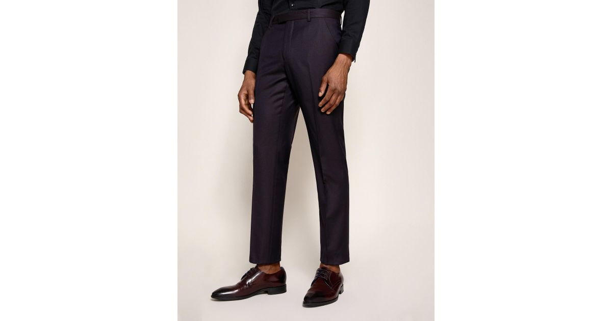 Pashion Jacquard Wool Suit Trousers Ted Baker RvNvM