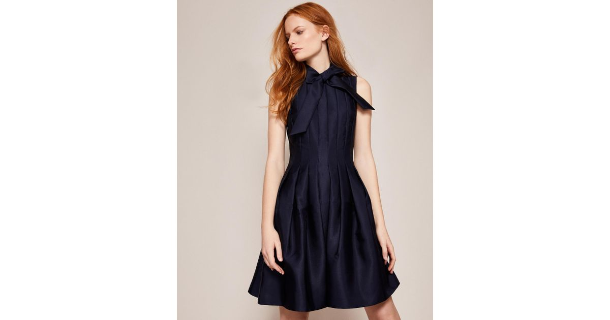 bcc3b8336 Ted Baker Bow Tie Neck Dress - Image Of Tie