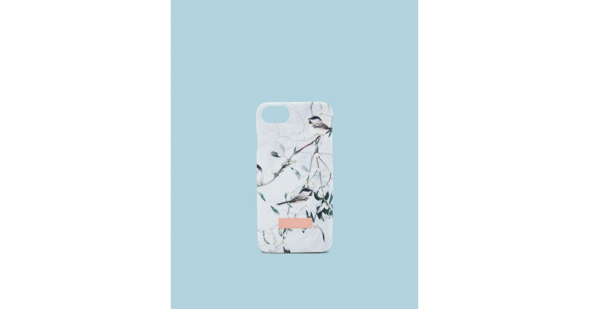b816d7827f88 Ted Baker Mistletoe Kiss Iphone 6 6s 7 8 Clip Case in Blue - Lyst