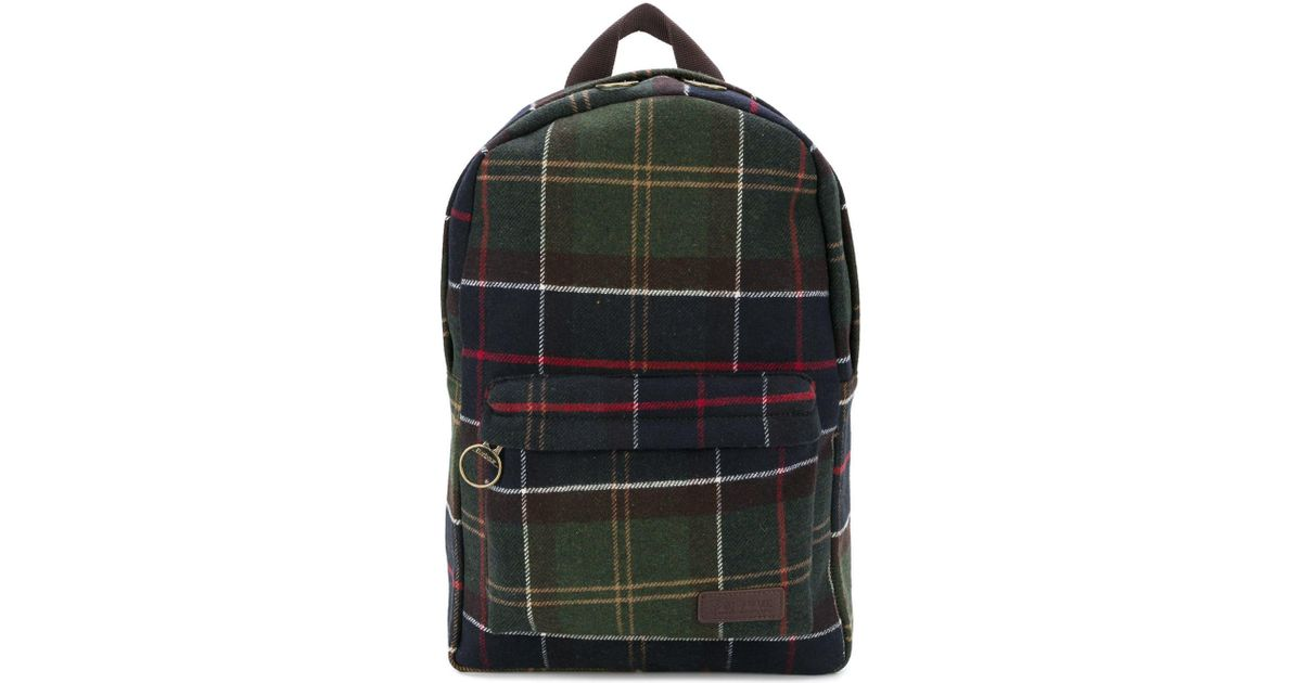 b025658a7165 ... Barbour Carrbridge Classic Tartan Backpack In Green in Green for Men -  Save 47.674418604651166% -  Converse ...
