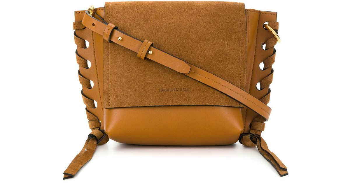 e73acf94de Lyst - Isabel Marant Kleny Leather Shouder Bag in Brown