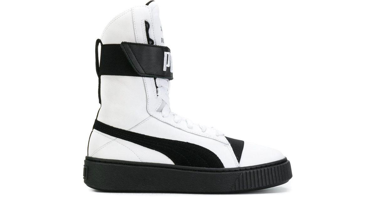 puma platform boot