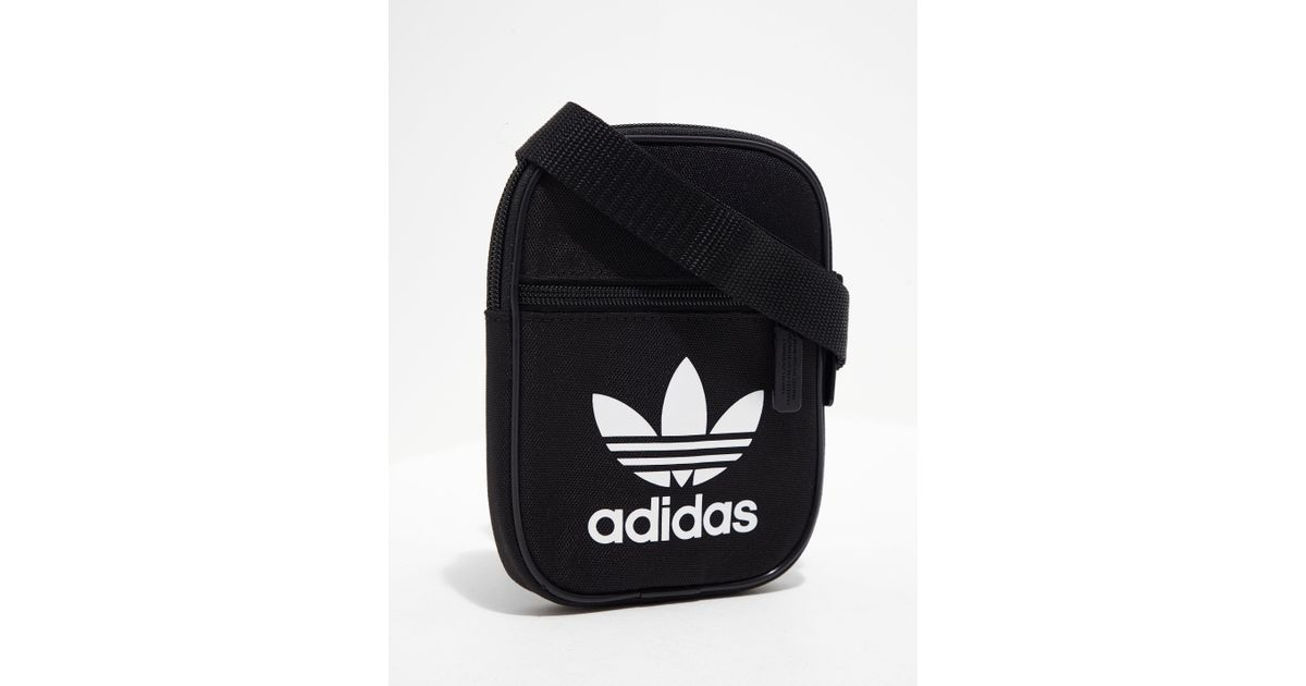 ed8b649c49c4 Lyst - adidas Originals Womens Trefoil Festival Bag Black in Black for Men