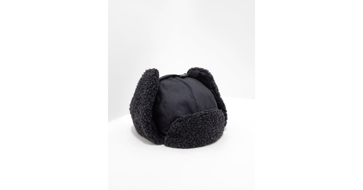 b1aedd795d9 Lyst - Barbour Mens Fleece Lined Trapper Hat - Online Exclusive Black in  Black for Men