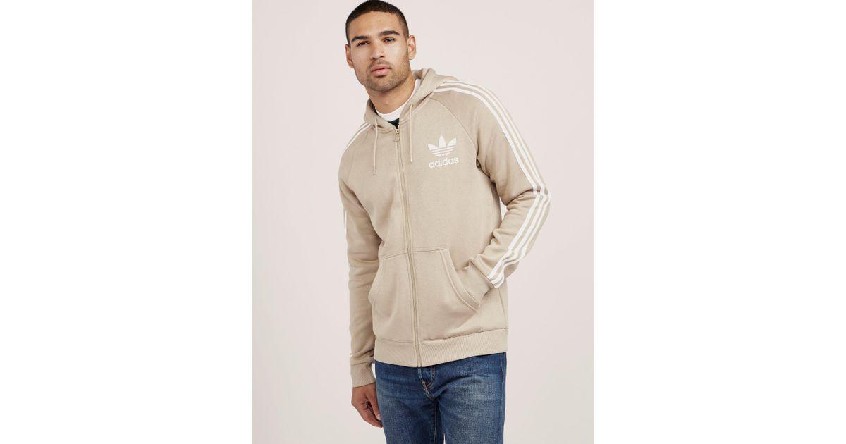 2951508b901c adidas Originals Mens California Full Zip Hoodie Stone white in White for  Men - Lyst