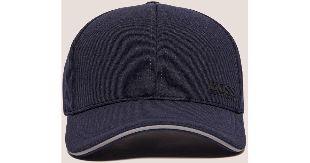0d470eefd50 Boss Mens Green Weekend Cap Navy Blue in Blue for Men - Lyst