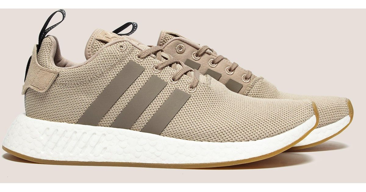 online store f388d b4efe Adidas Originals - Mens Nmd R2 Green for Men - Lyst