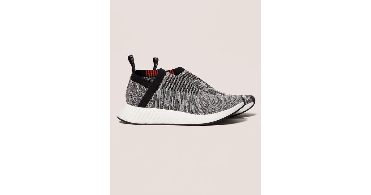 dfb4c5b877e4a2 Lyst - Adidas Originals Mens Nmd Cs2 Boost Primeknit Black