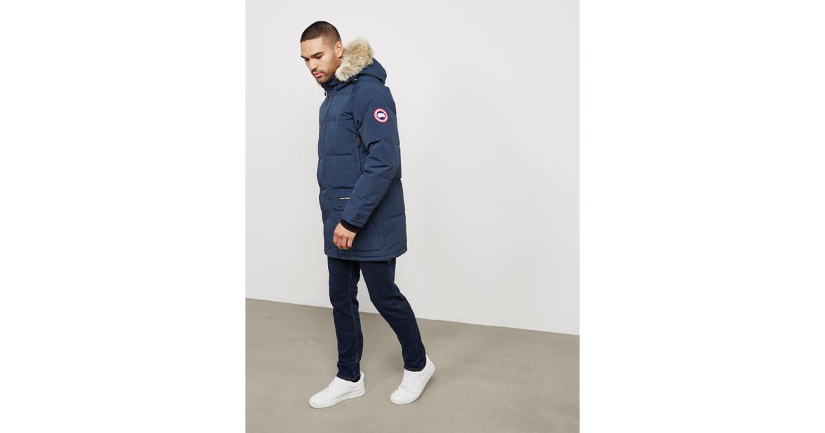 Lyst - Canada Goose Emory Parka in Blue for Men 7d65747791a3