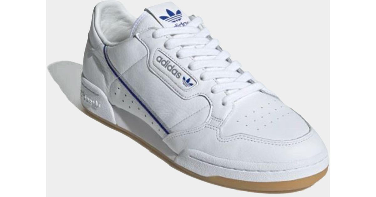 419780a87c8 Lyst - adidas Originals Mens X Tfl Continental 80 White in White for Men