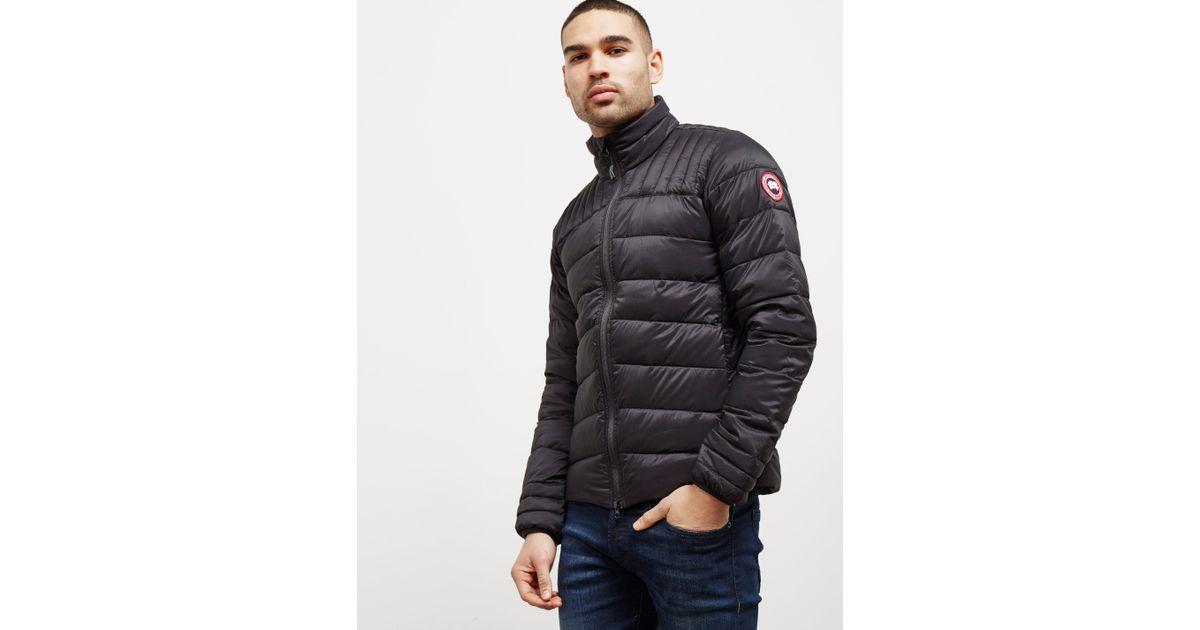 90e7628c2c4 Canada Goose Mens Brookvale Padded Jacket Black for men