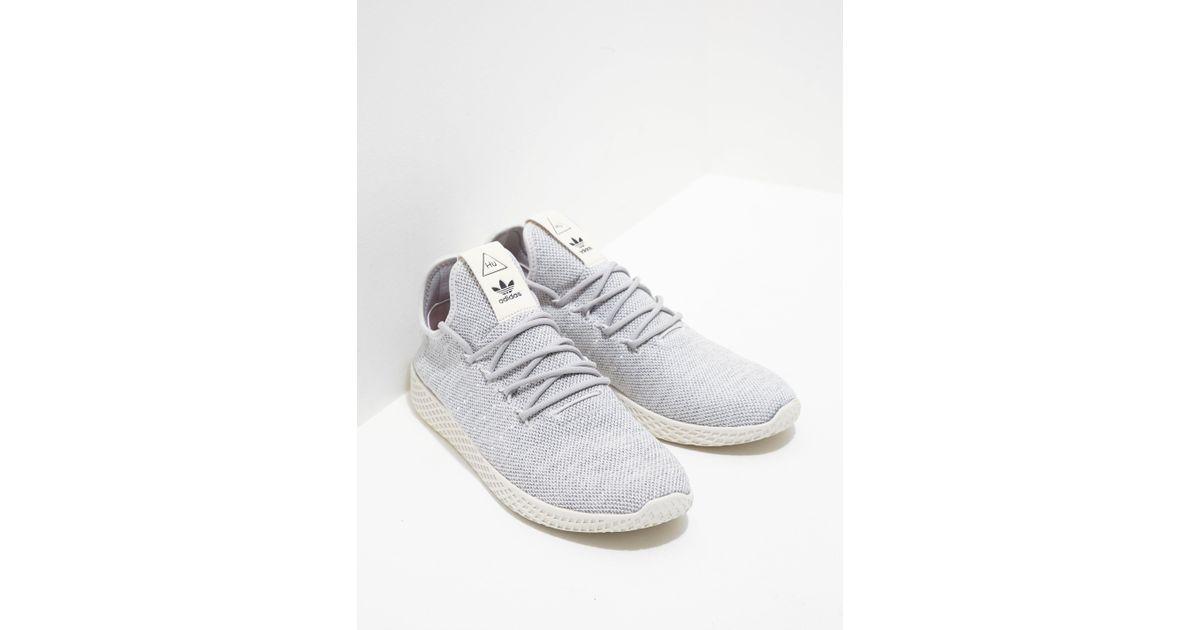 f525e840bc3b9 adidas Originals Mens X Pharrell Williams Tennis Hu Primeknit Grey in Gray  for Men - Lyst
