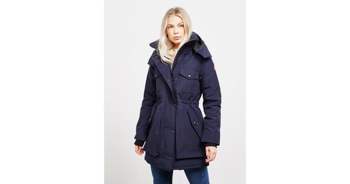 6bfc8b86aad Canada Goose Gabriola Parka Jacket Blue in Blue - Save 2% - Lyst