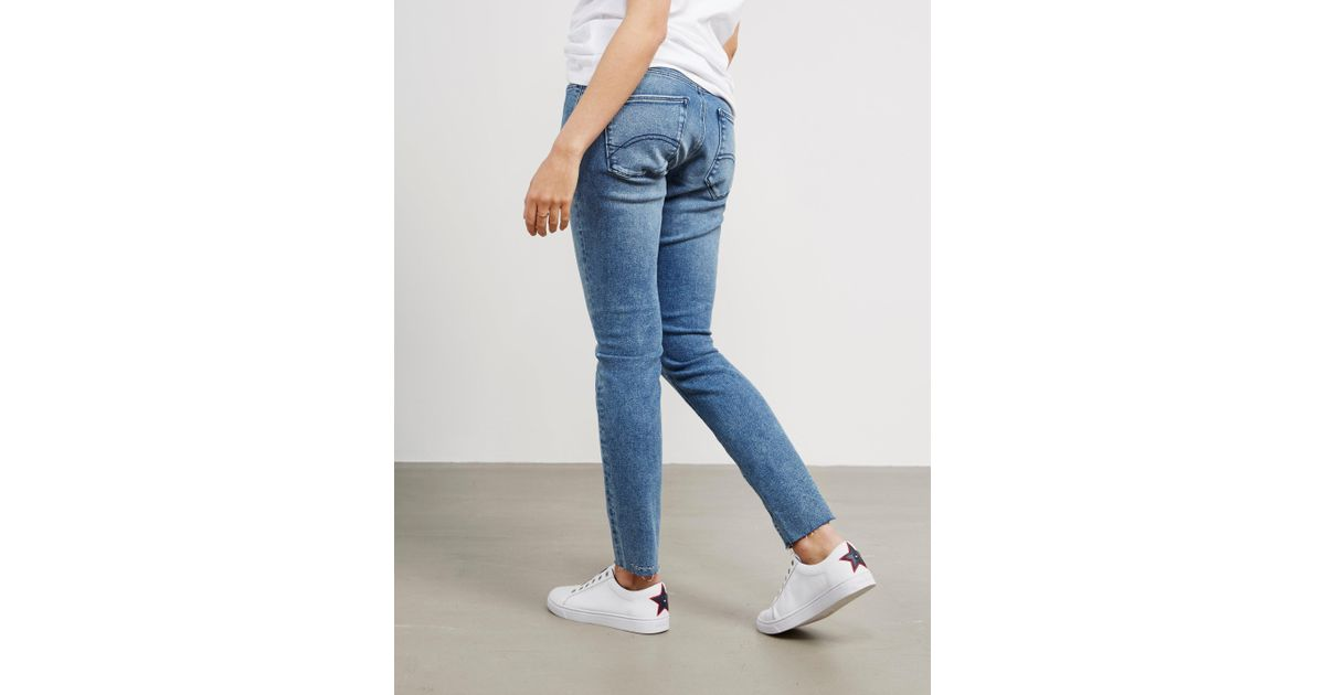 the best attitude classic shoes most popular Tommy Hilfiger - Womens Skinny Salt And Pepper Jeans Blue - Lyst