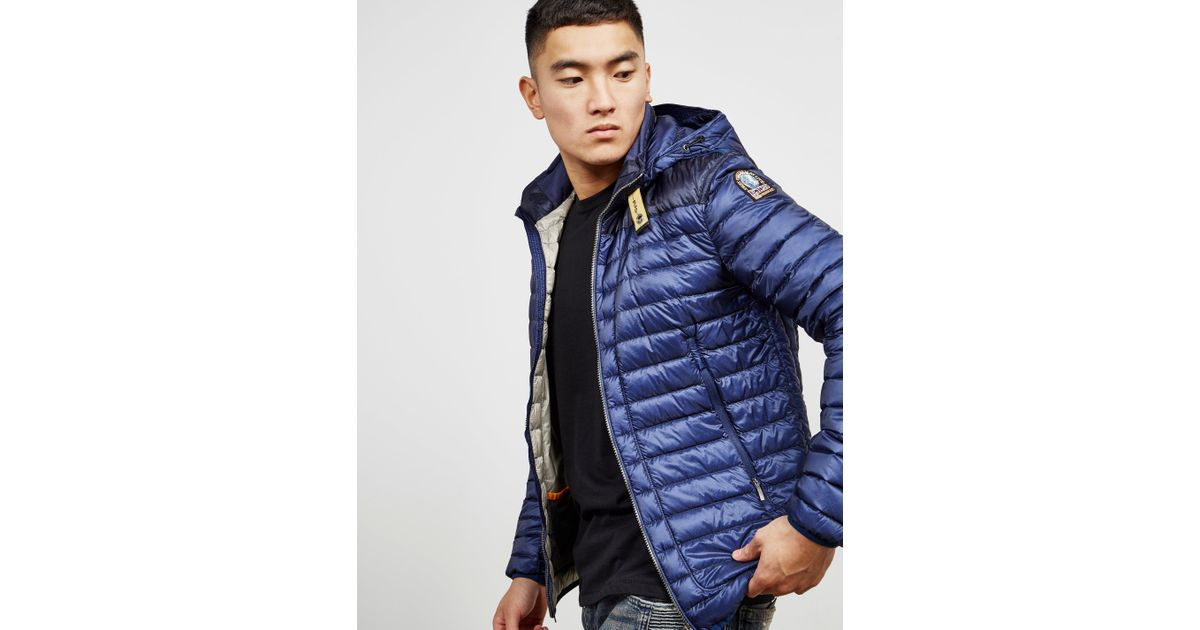 Lyst - Parajumpers Mens Alvin Hooded Lightweight Jacket - Online Exclusive Blue in Blue for Men