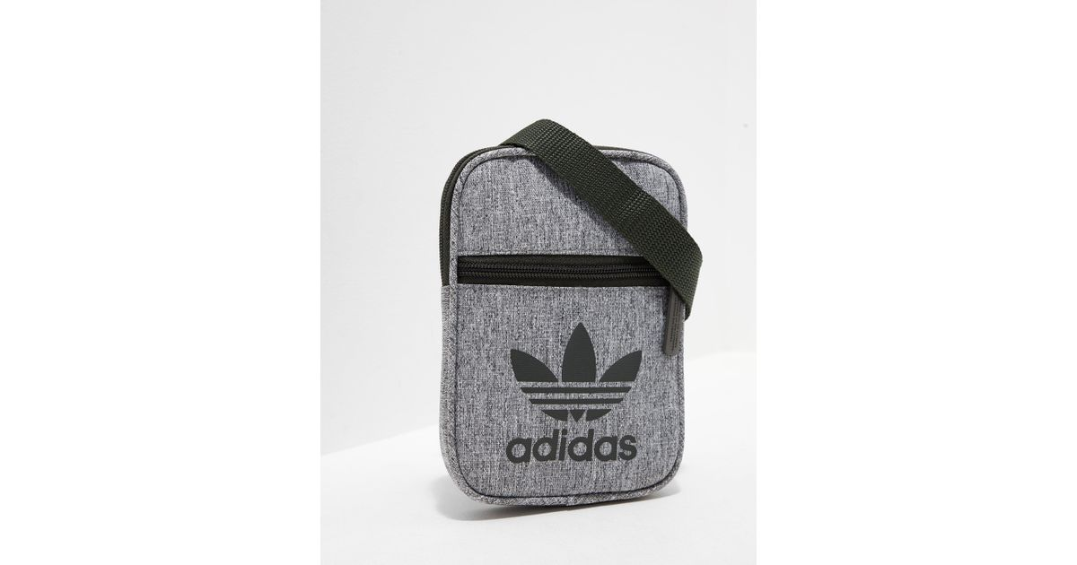 40942b045cb2 Lyst - adidas Originals Womens Festival Bag Night Cargo white in White for  Men