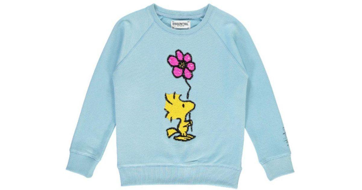 8fb57891fd Lyst - Essentiel Antwerp Papas Woodstock Sweatshirt in Blue