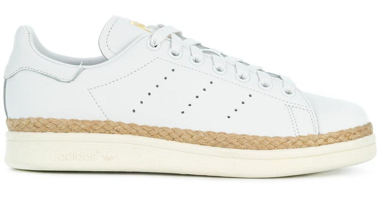 competitive price 8ed32 c68e8 Adidas - White Sneakers ` Originals Superstar 80`s New Bold` - Lyst
