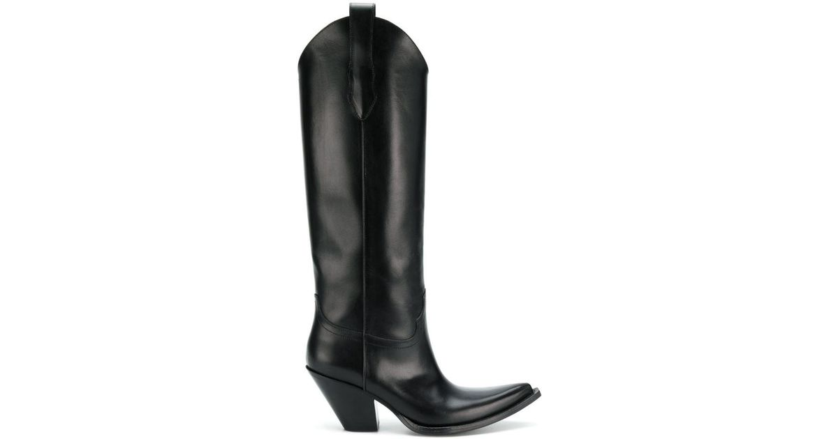 tall Mex boots - Black Maison Martin Margiela W8sT7dzsh