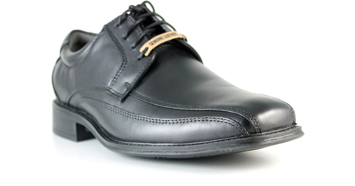 dockers endow leather dress shoes in black for save