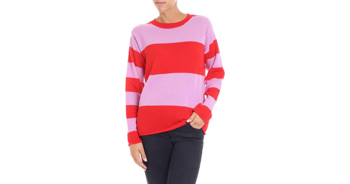 938083b3b57ef9 sofie-dhoore-pink-Pink-And-Red-Striped-Pullover.jpeg