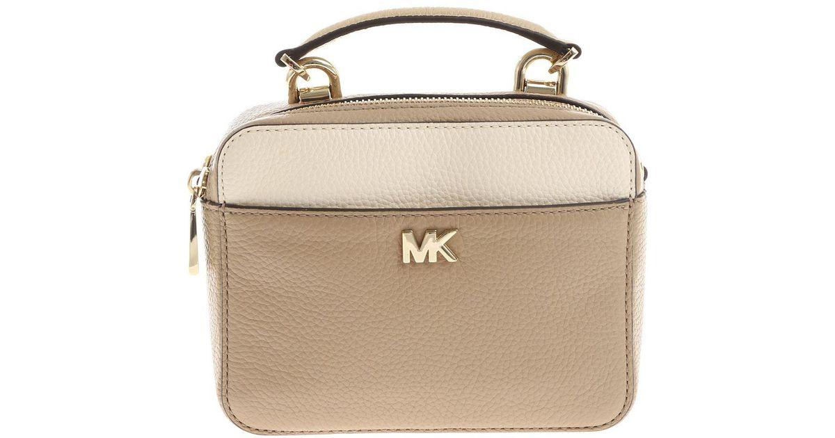 fe8e017fc1b2 Lyst - Michael Kors Taupe Crossbody Bag