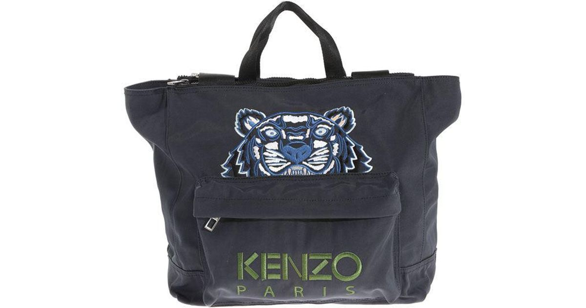 9291d716fb Lyst - KENZO Large Tiger Tote Bag in Black