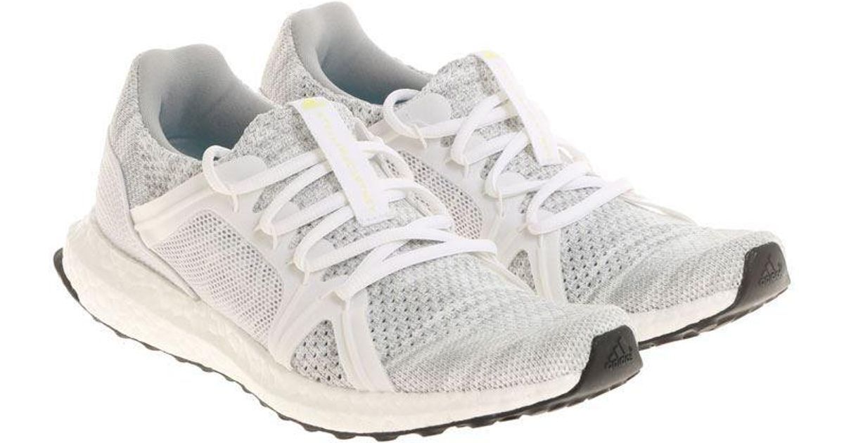 197acaa436630 Lyst - adidas By Stella McCartney White And Gray Ultraboost Parley Sneakers  in White