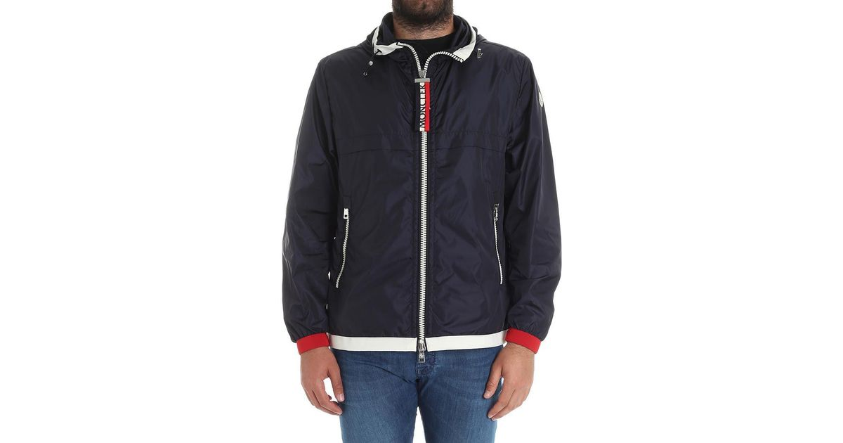 Blue Alsahat jacket Moncler Buy Cheap Sast Sale Online Cheap Free Shipping Countdown Package Low Shipping Sale Online QOj4Lo