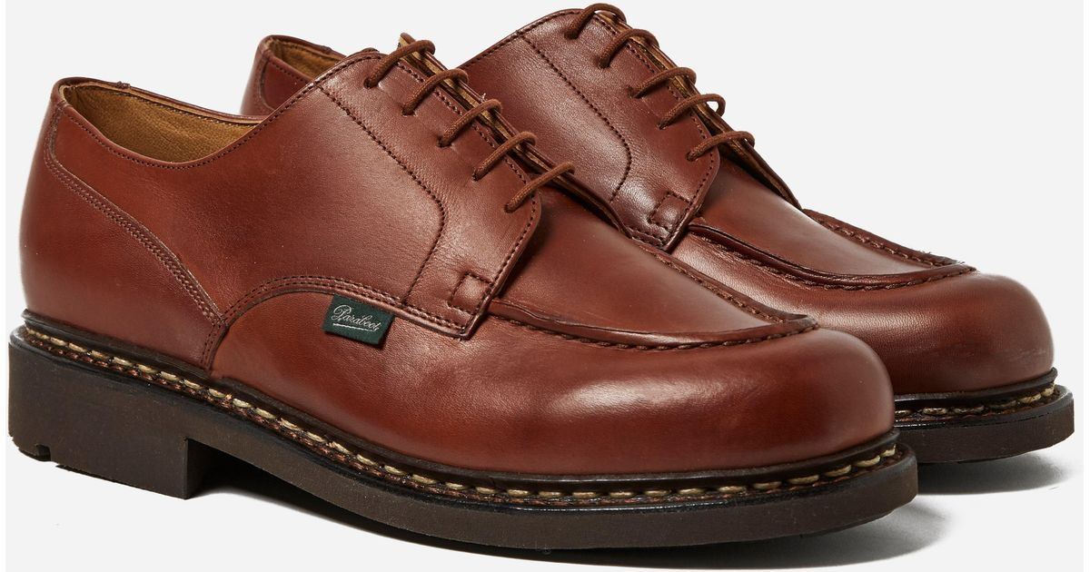 paraboot chambord lis marron in brown for men lyst