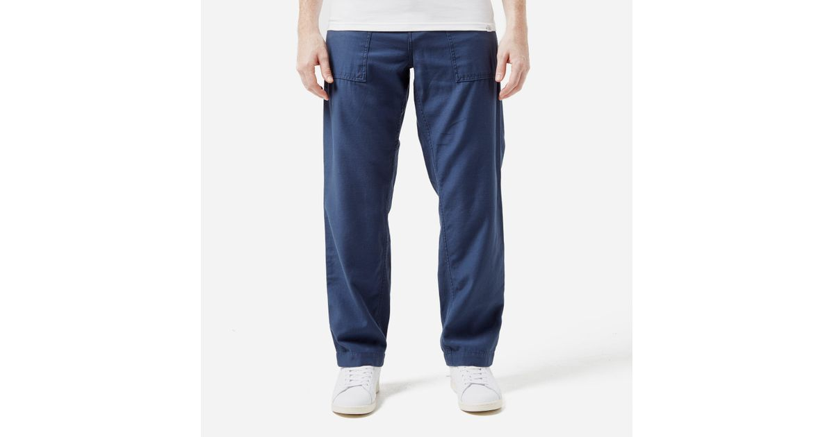 Carhartt Wip Carhartt Fatigue Pant in Blue for Men - Lyst d3d37ea232c
