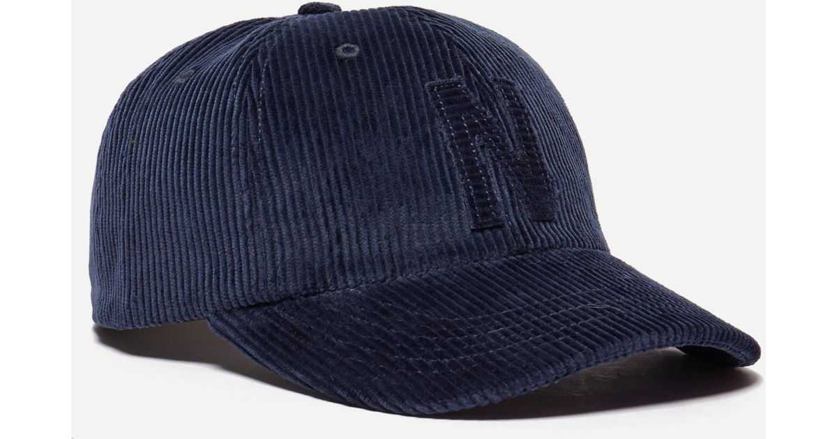 Norse Projects 6 Panel Corduroy Cap in Blue for Men - Lyst 9380d6d64f5