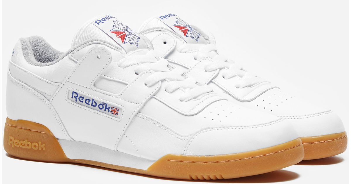7f89543e715 Lyst - Reebok Workout Plus R12 in White for Men