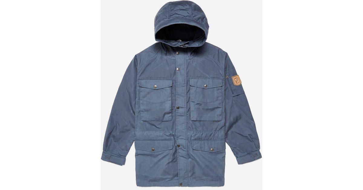 Lyst - Fjallraven Singi Trekking Jacket in Blue for Men e03277e26cdeb