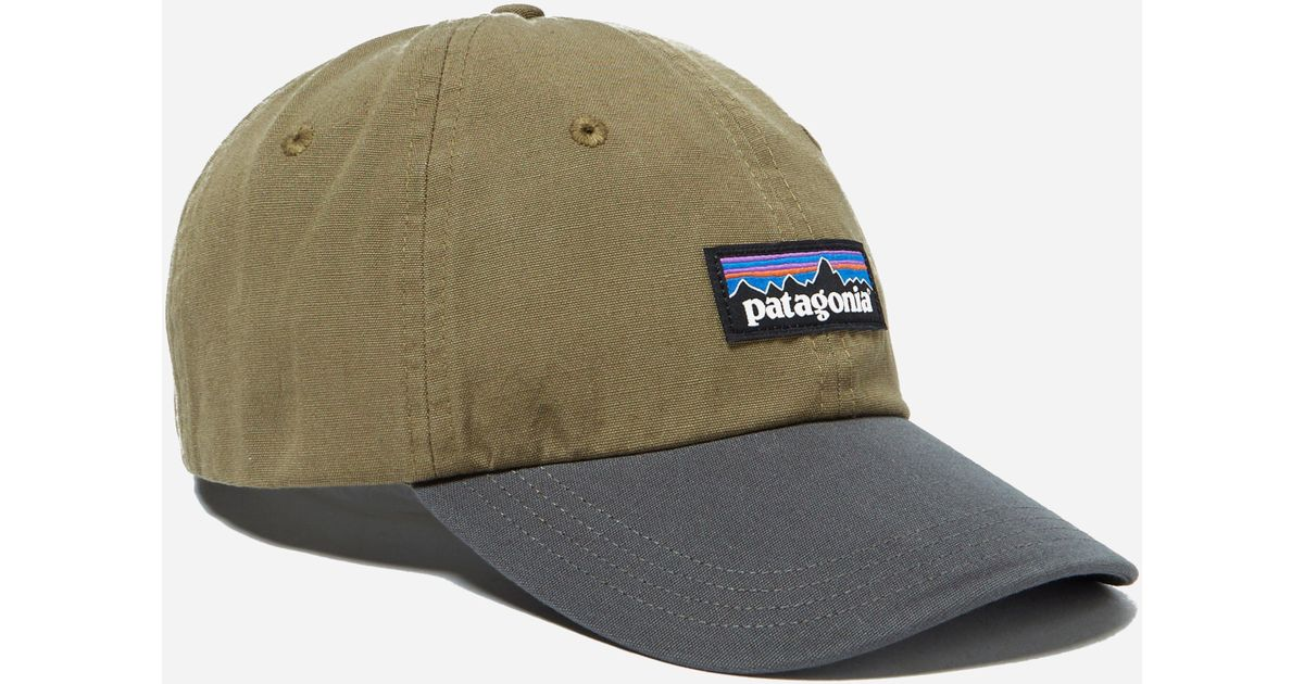 Lyst - Patagonia P6 Label Trad Cap in Green for Men aaab39fbf81