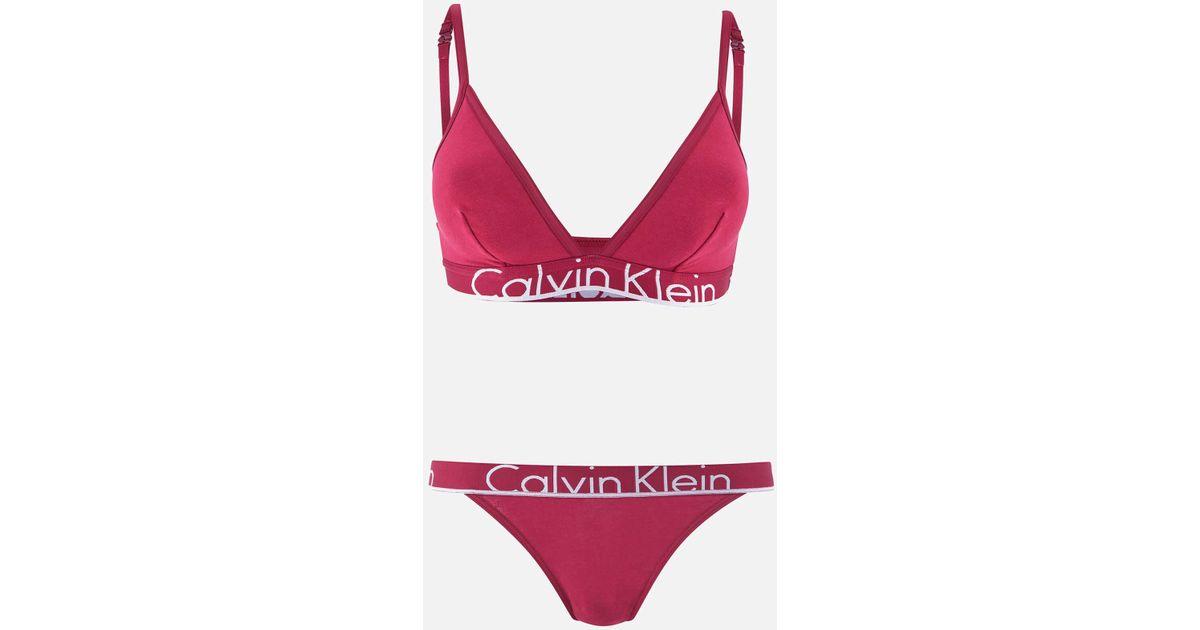 1331ba976 Calvin Klein Underwear Gift Set in Red - Lyst