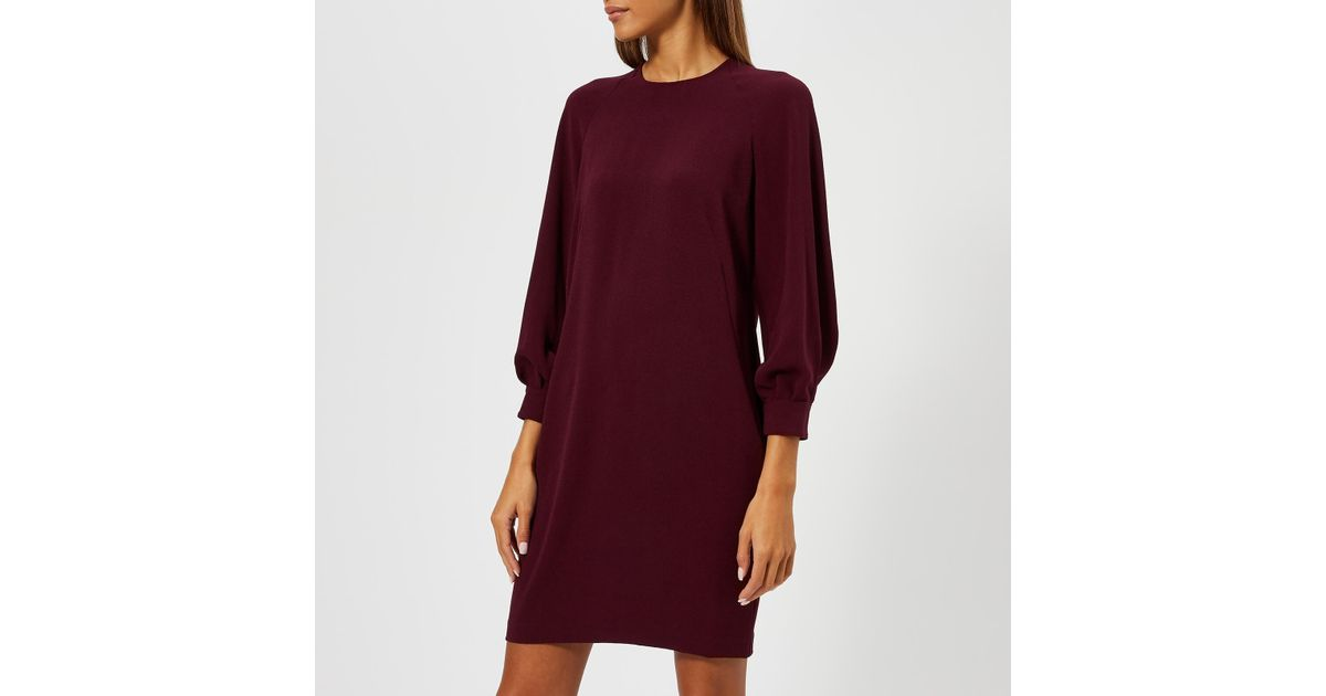Lyst - Whistles Tihara Dress in Red 700dc84b1