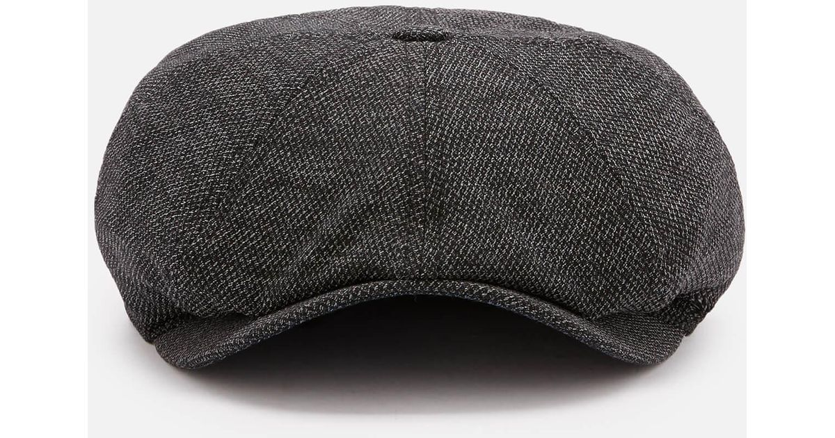 952e35dd2 Ted Baker Treacle Baker Boy Hat in Gray for Men - Lyst