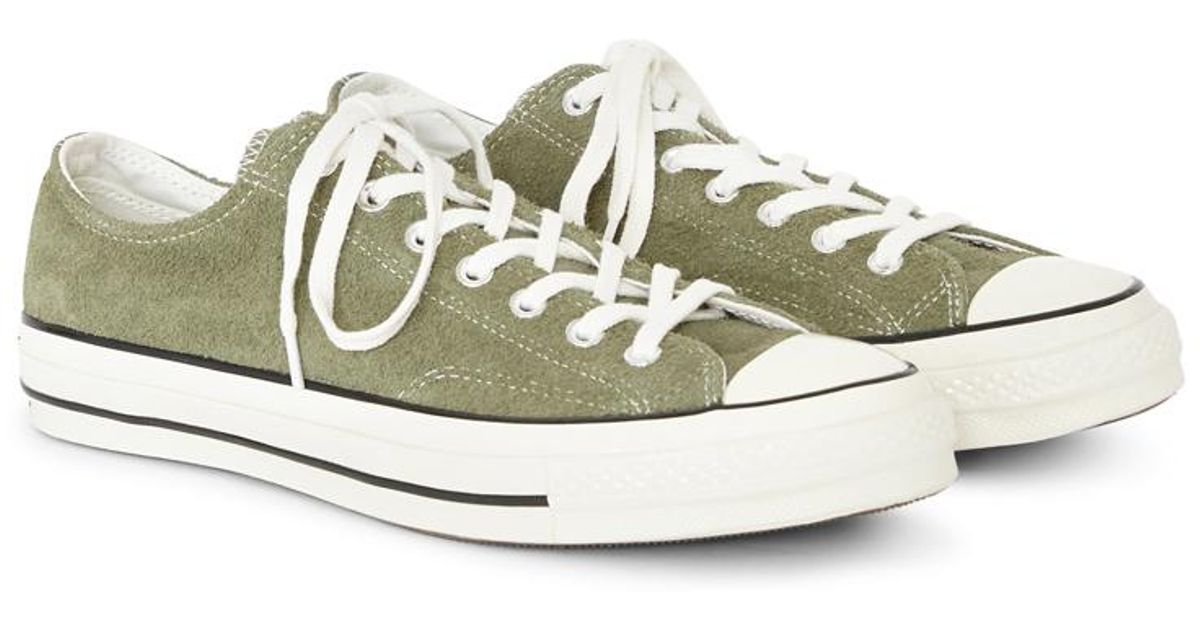 Lyst - Converse Chuck Taylor All Star  70 Suede Ox Green in Green for Men 7f5460430a45
