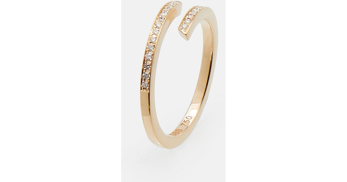 Sophie Bille Brahe Amour Mini Ring - Gold KcqFHor4w