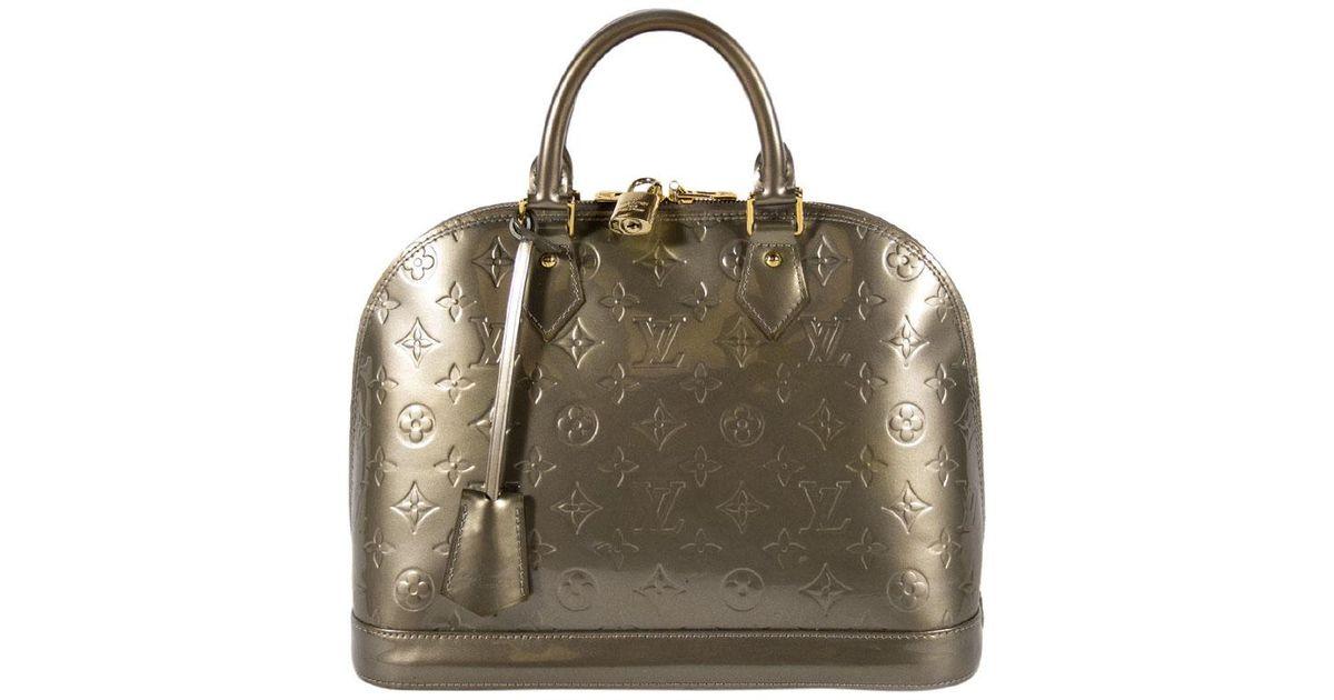 5530f3b2f70 Louis Vuitton Rose Velours Monogram Vernis Alma BB Bag. nextprev. prevnext.  null