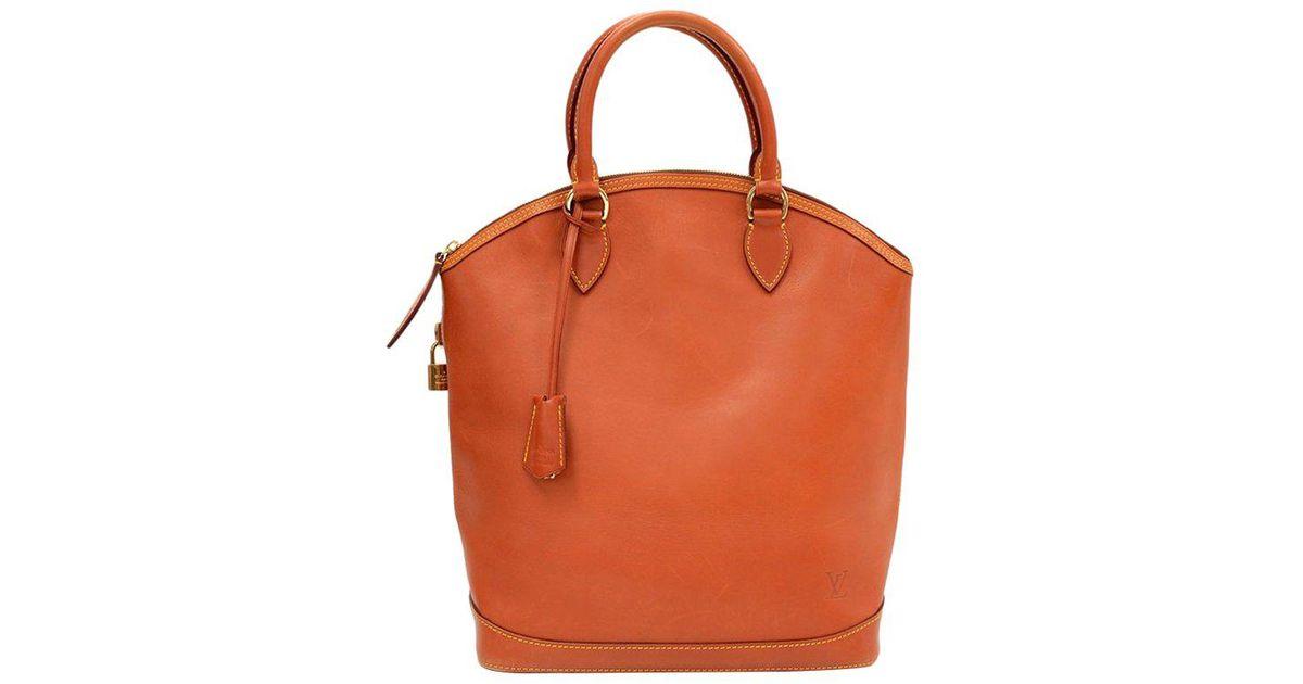 Louis Vuitton Caramel Nomade Leather Lockit Bag in Brown - Lyst 940c3c4ab3fa6
