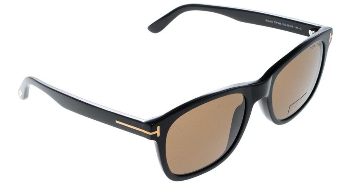 9087fe9c73b Lyst - Tom Ford Dark Tf 595 Eric-02 Sunglasses in Brown for Men