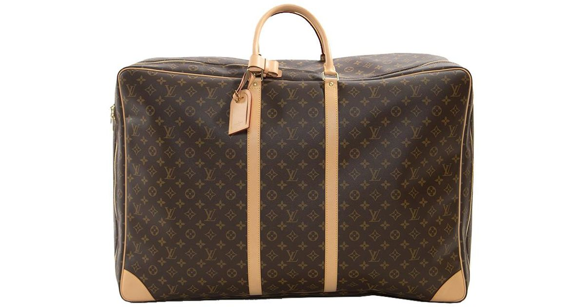 5e1b03a95cad Lyst - Louis Vuitton Monogram Canvas Sirius 70 Soft Sided Suitcase in Brown  for Men