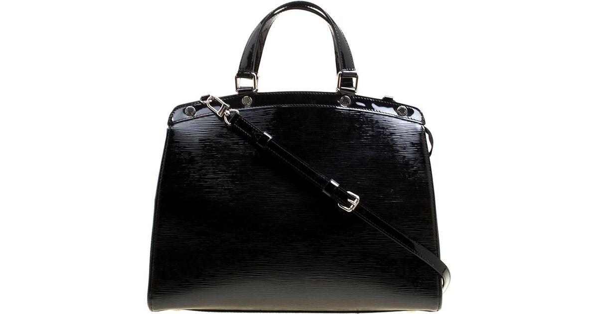 c3e358dfb29 Louis Vuitton Electric Epi Leather Brea Gm Bag in Black - Lyst