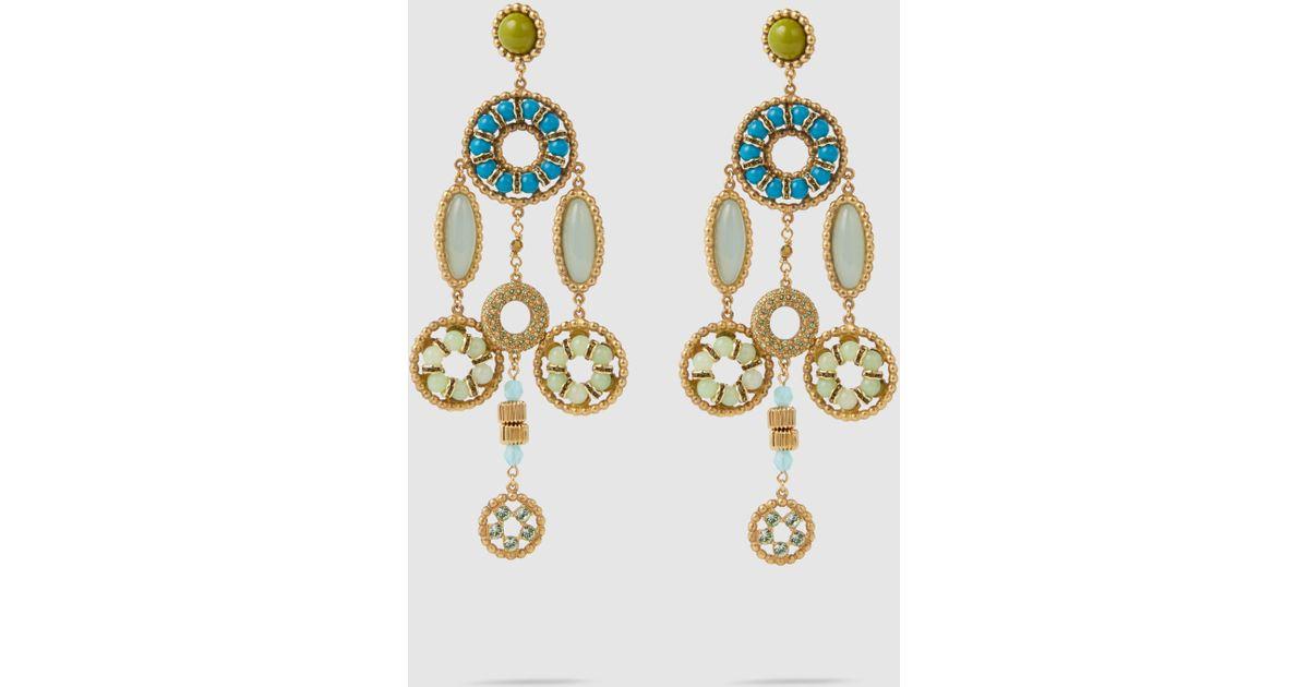 Marc Jacobs Crystal Jewelled Earrings yG2nYngpAy