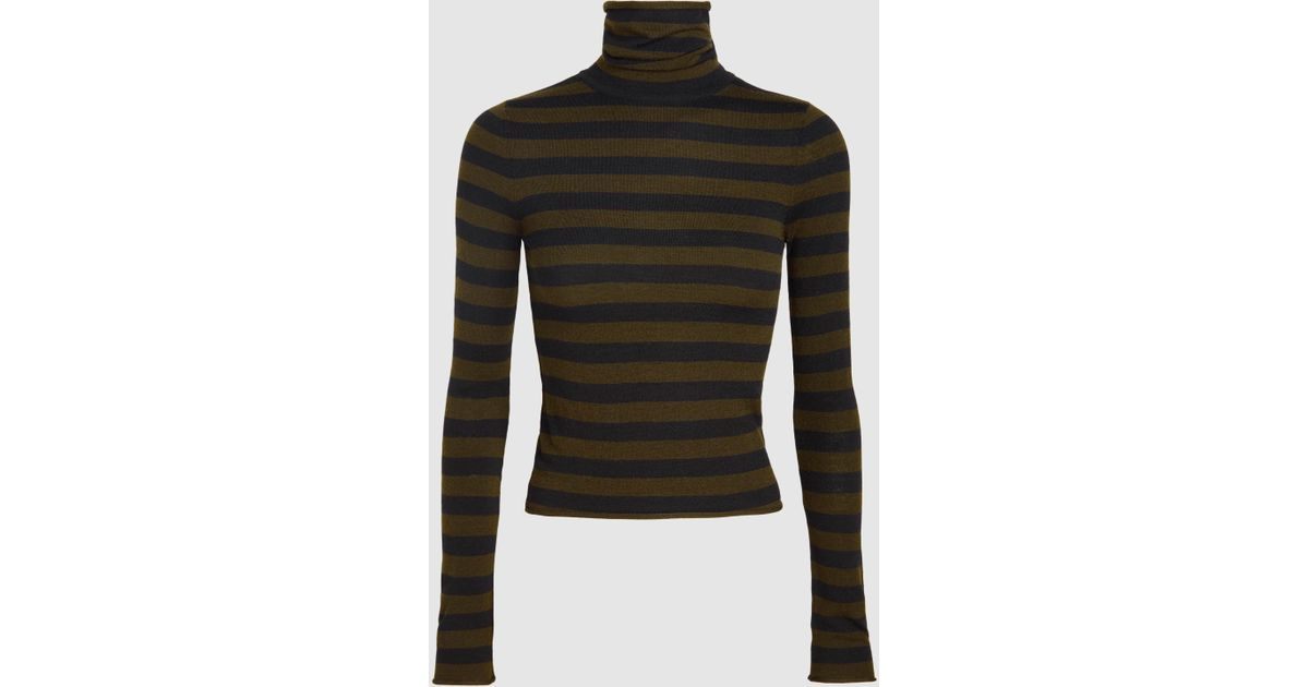 Lincoln Merino Wool-Blend Turtleneck Top A.L.C.