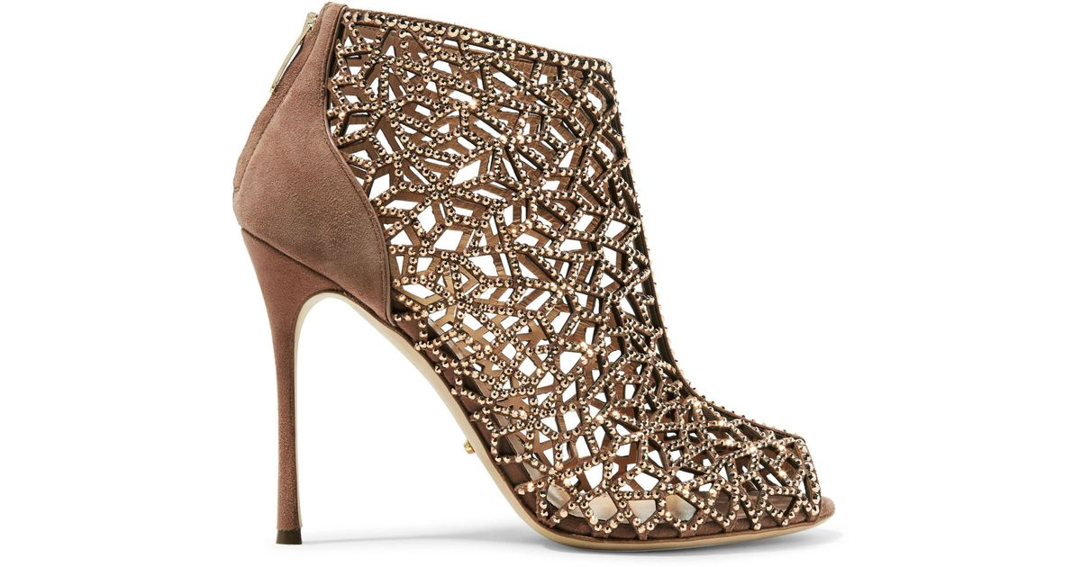 premium selection 80612 f4116 sergio-rossi-Antique-rose -Royal-Strass-Crystal-embellished-Laser-cut-And-Smooth-Suede-Ankle-Boots-Antique- Rose.jpeg