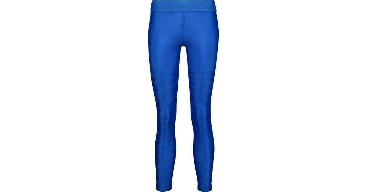 2fda9fdd839b6 adidas By Stella McCartney Printed Leggings Royal Blue in Blue - Lyst